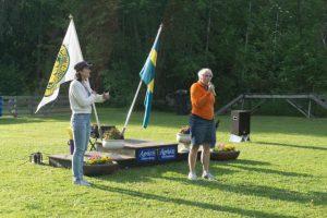 SBKs generalsekreterare Catrin Fernholm öppnade Smet!