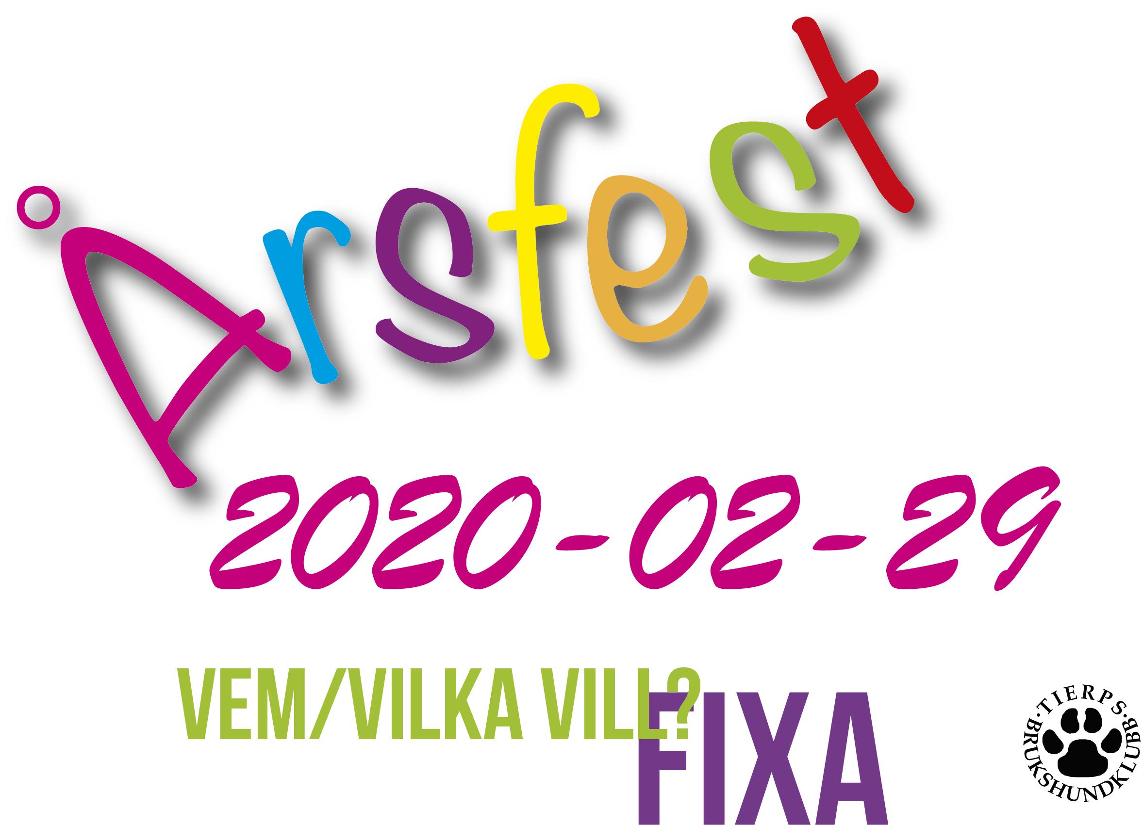 Årsfest 2020
