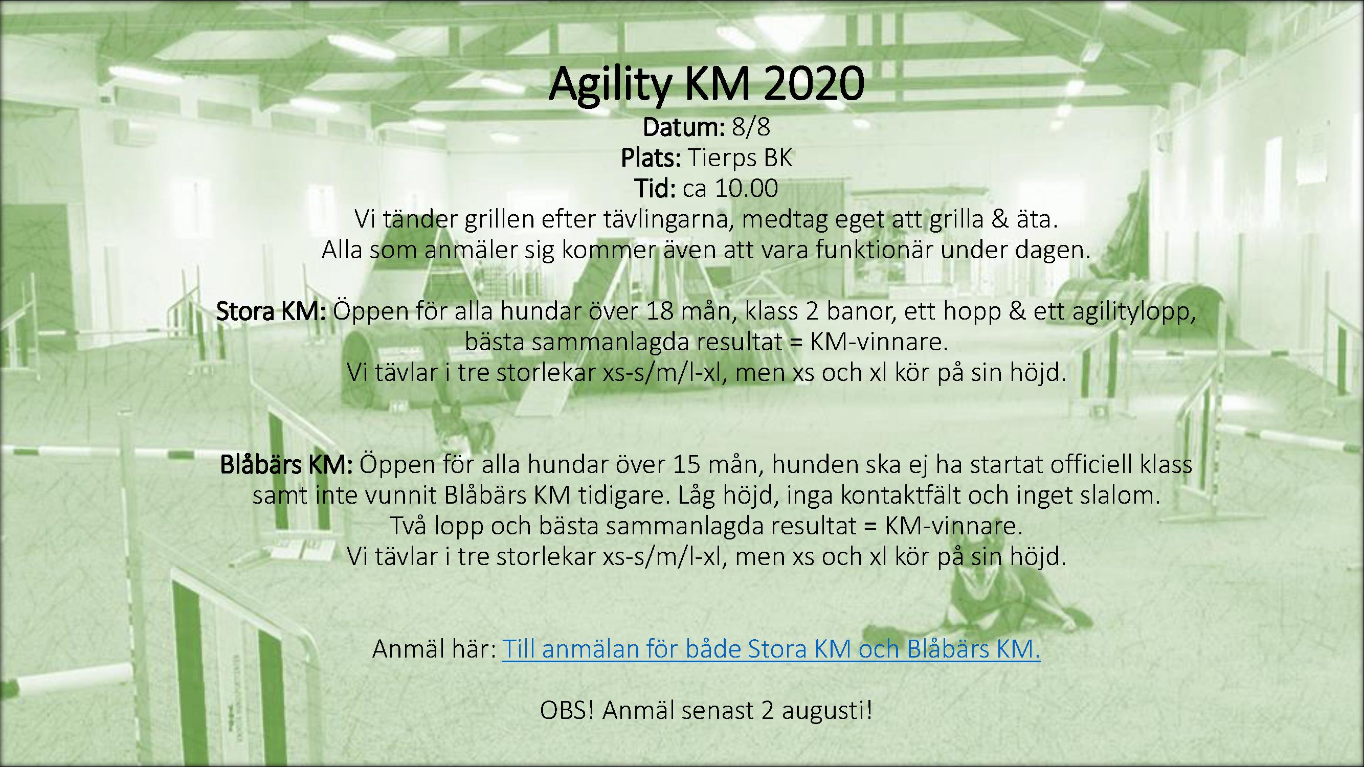 Agility KM 2020